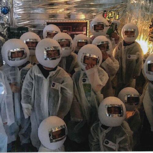 Weltraum-Projekt im Kindergarten: Kleine Astronauten reisen ins All