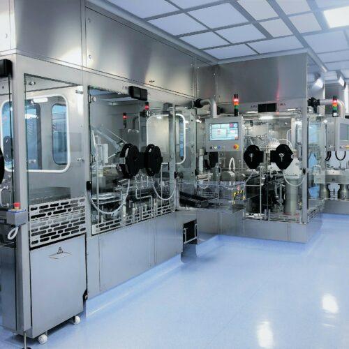 Neuer steriler Fill und Finish-Bereich für Injektionsfläschchen und vorbefüllte Spritzen bei Aenova