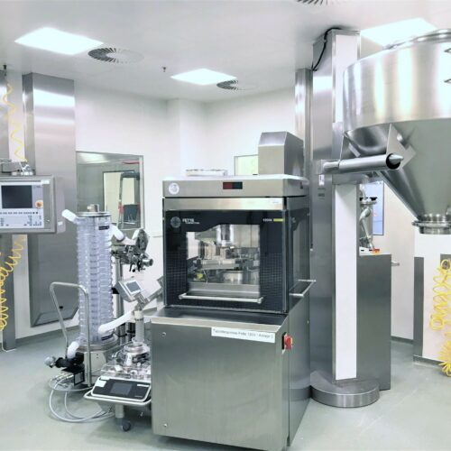 Aenova increases capacity for tablet production in the area of highly potent, hormone-containing active ingredients